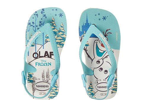 Havaianas Kids Baby Frozen Flip Flops (Toddler)