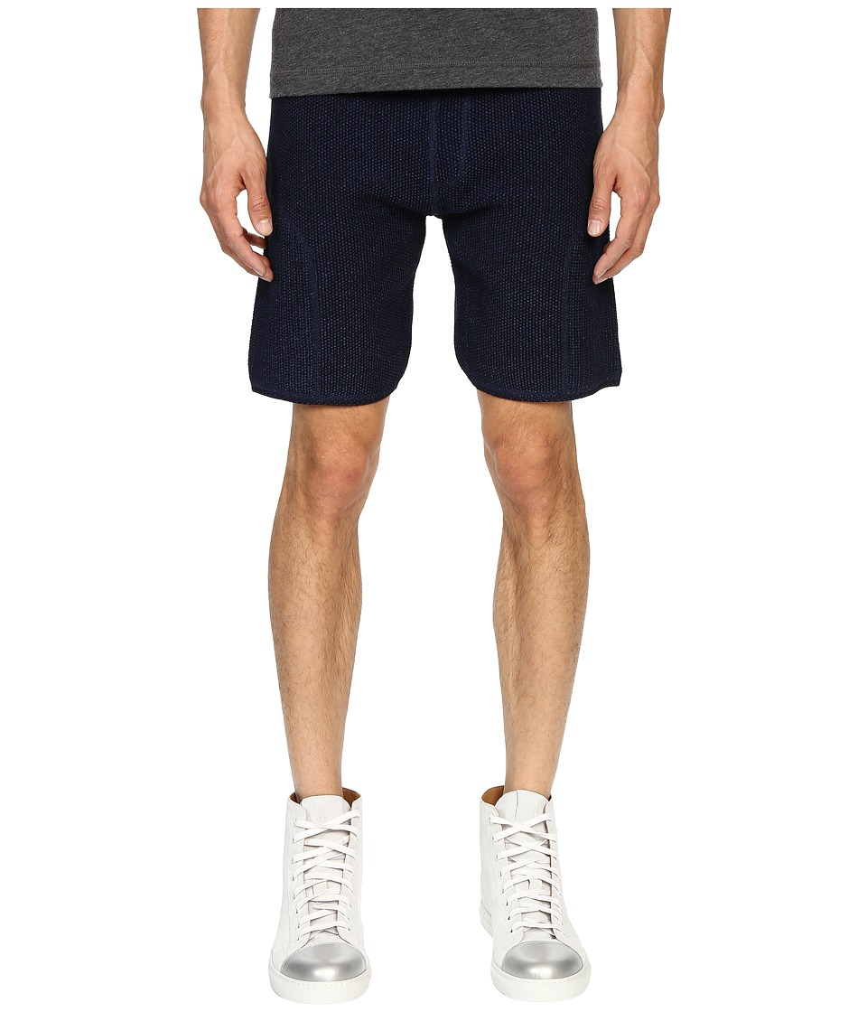Matiere Soren Knit Shorts Indigo Mens Shorts
