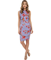 Nicole Miller - Birds in the Birds Linen Lauren Dress