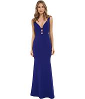 Nicole Miller - Ezmerelda Cage Front Structured Gown