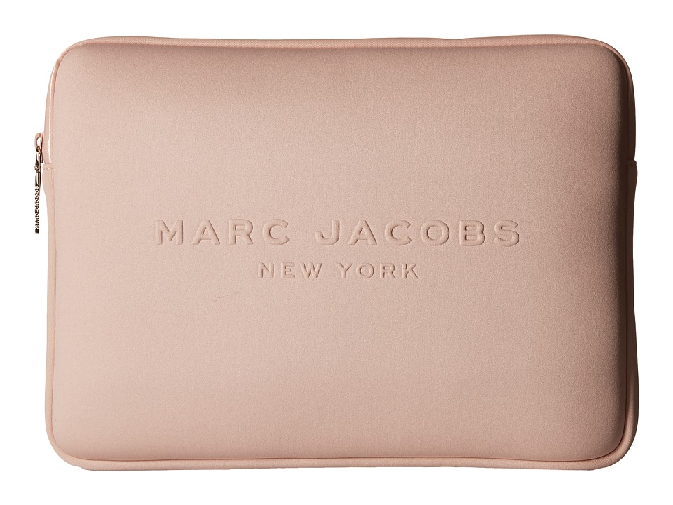 Marc Jacobs - Neoprene Tech 13 Computer Case (Pale Blush) Computer Bags