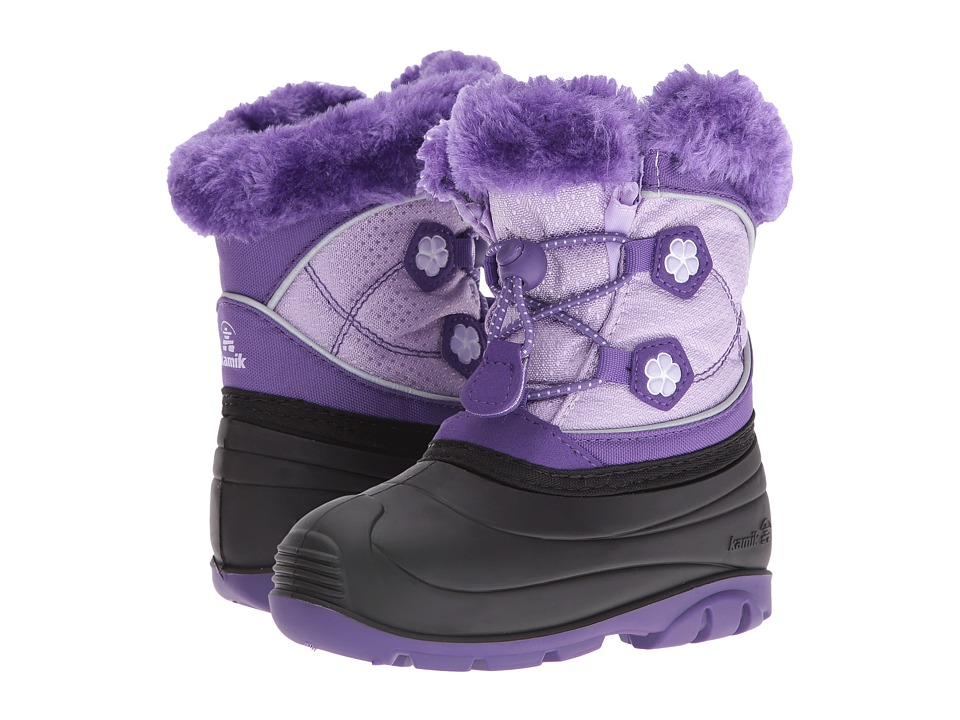 Kamik Kids Pebble (Toddler) (Purple/Violet) Girls Shoes
