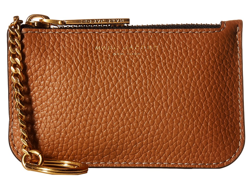 Marc Jacobs - Gotham Key Pouch (Maple Tan) Travel Pouch