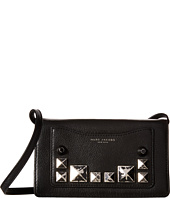 Marc Jacobs - Recruit Chipped Studs Wallet Leather Strap
