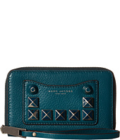 Marc Jacobs - Recruit Chipped Studs Zip Phone Wristlet