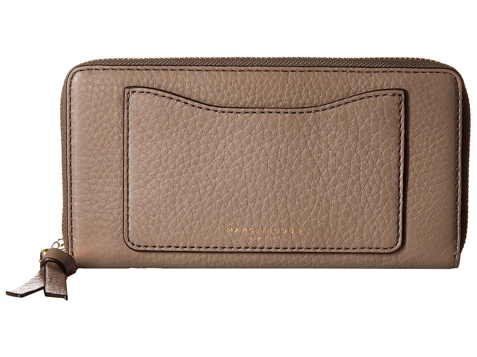 Marc Jacobs Recruit Standard Continental Wallet Mink Wallet Handbags