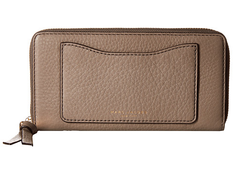 Marc Jacobs Recruit Standard Continental Wallet - Mink