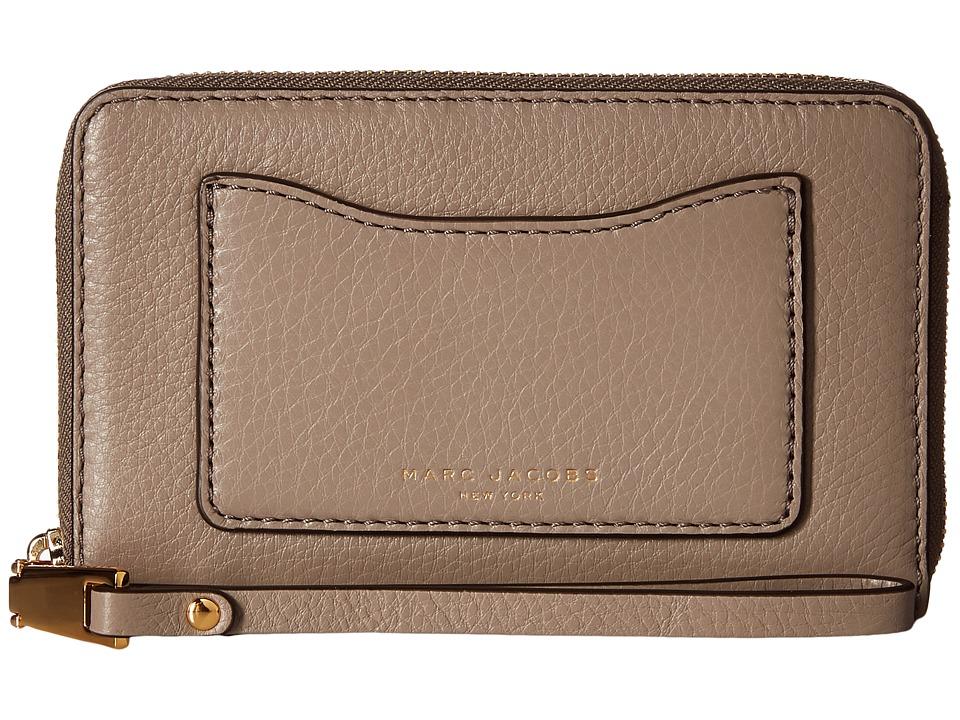 Marc Jacobs - Recruit Zip Phone Wristlet (Mink) Wristlet Handbags