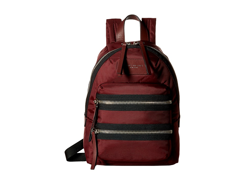 Marc Jacobs Nylon Biker Mini Backpack Rubino Backpack Bags