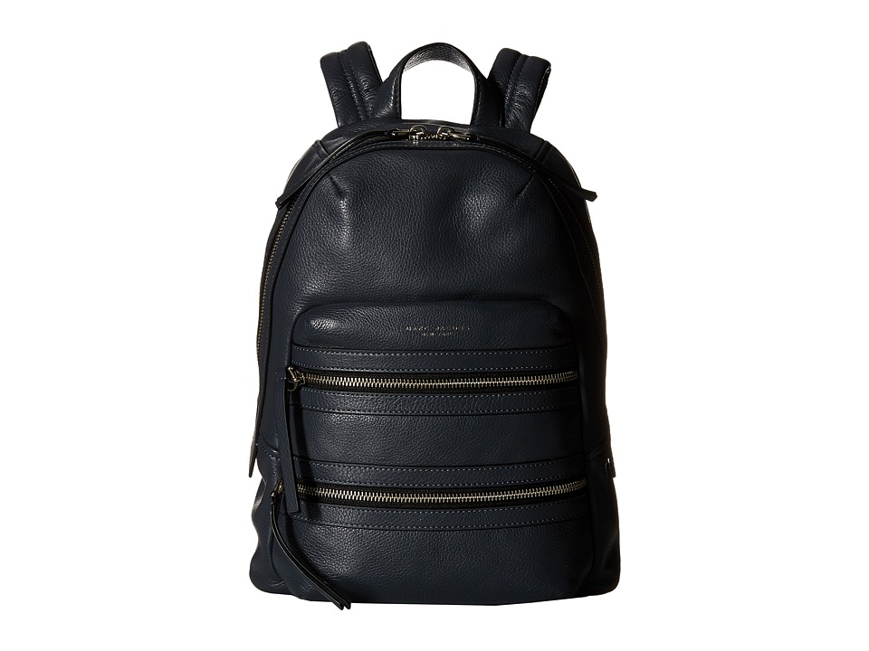 Marc Jacobs Biker Backpack Storm Grey Backpack Bags