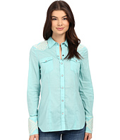 Stetson - Solid Lawn Long Sleeve Western Shirt