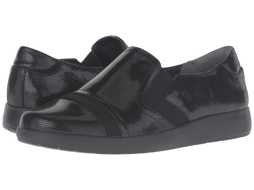 Rockport - Devona Demsa (Black Shiny Leather) Women