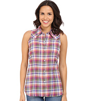 Stetson - Orchid Plaid Sleeveless Western Shirt