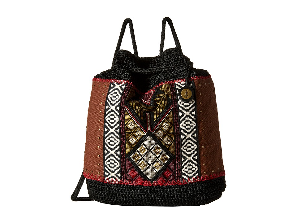 The Sak - Sayulita Backpack (Black Tribal) Backpack Bags