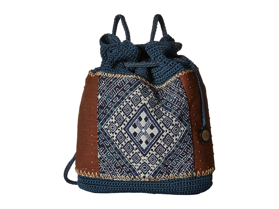 The Sak - Sayulita Backpack (Blue Diamond) Backpack Bags