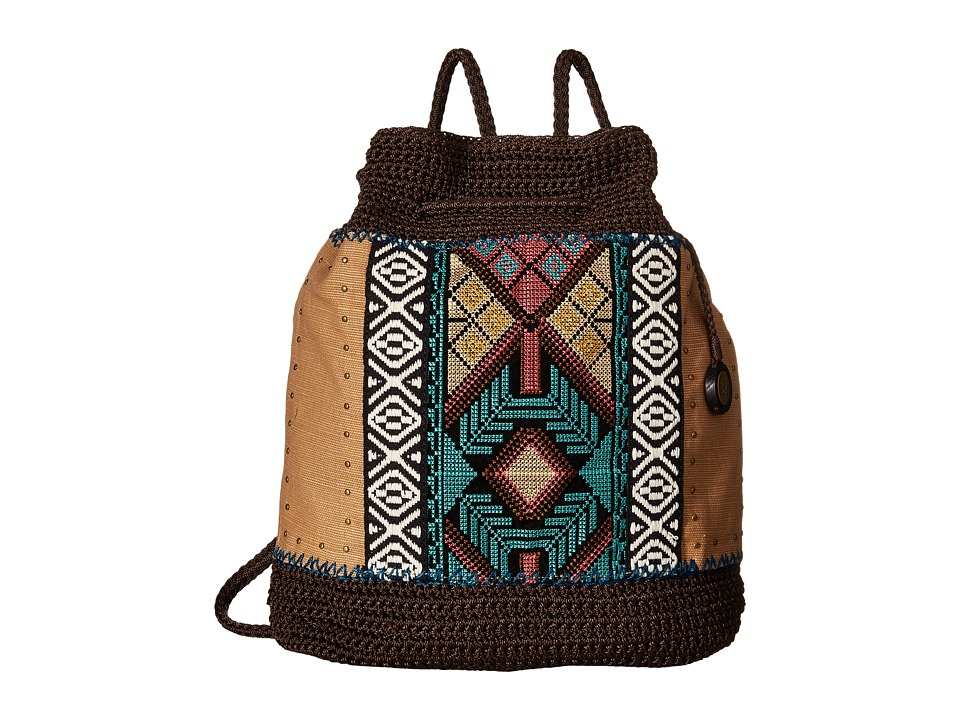The Sak - Sayulita Backpack (Brown Tribal) Backpack Bags