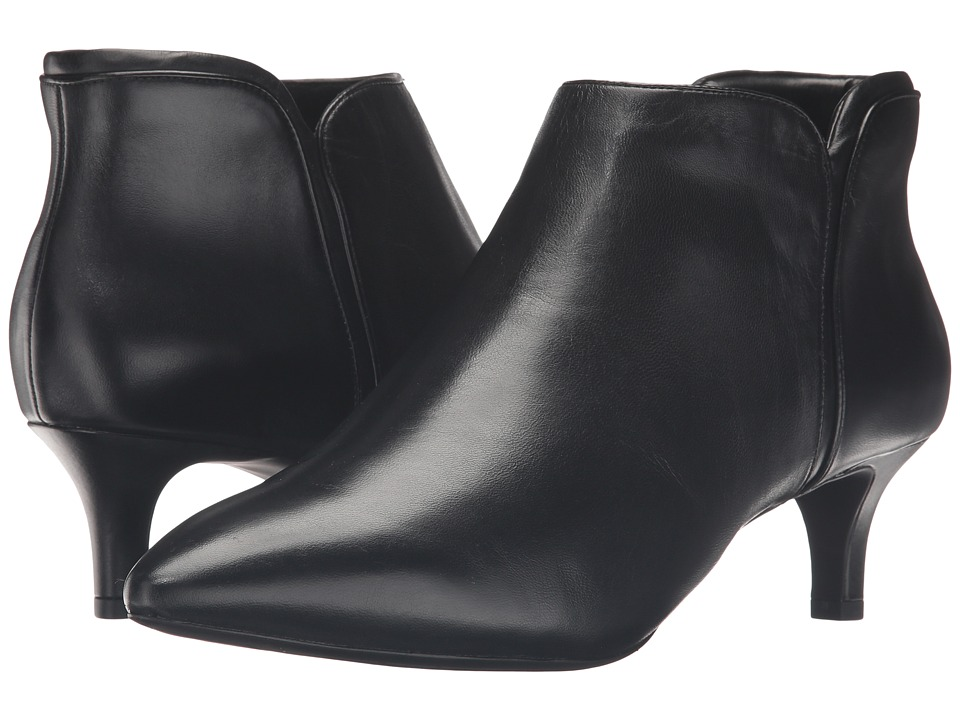 Rockport - Total Motion Kalila Bootie (Black Leather) Womens Boots