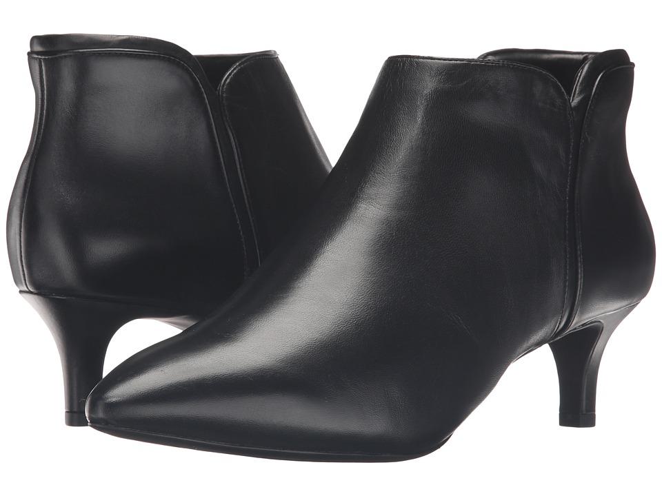 Rockport Total Motion Kalila Bootie (Black Leather)