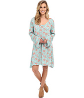 Stetson - Tulip Print Peasant Style Dress