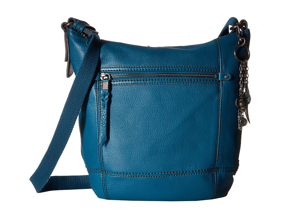 The Sak - Sequoia Crossbody (Azure) Cross Body Handbags