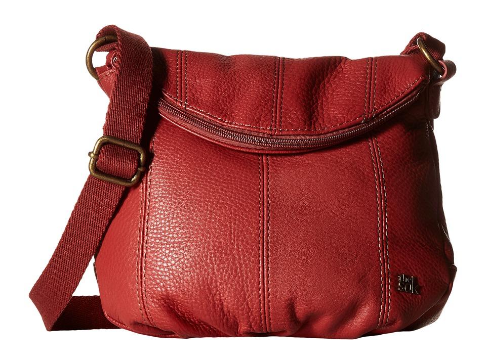 The Sak - Deena Crossbody Flap (Sienna) Cross Body Handbags
