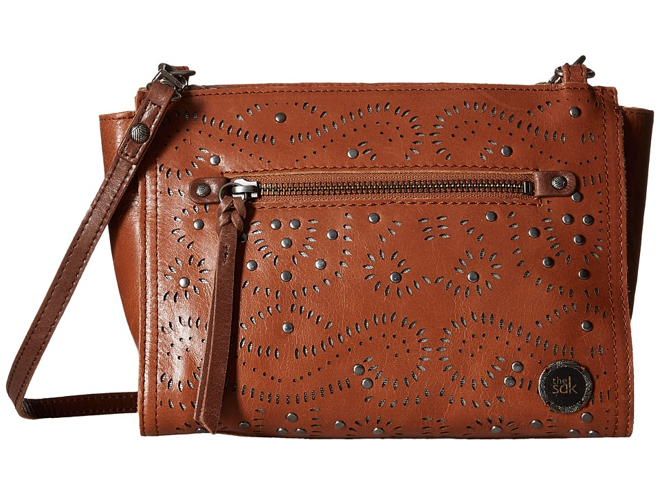 The Sak - Cabrillo Demi Crossbody (Tobacco Swirl) Cross Body Handbags