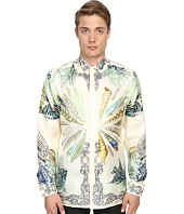 Versace Collection - Conch Shell Silk Button Up