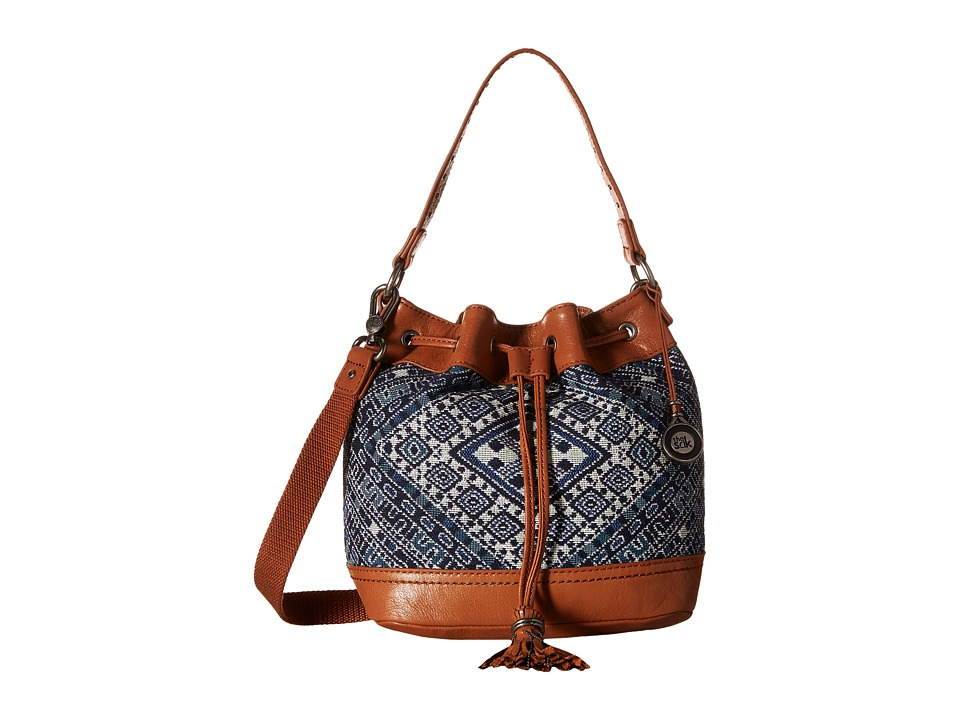The Sak - Ukiah Small Drawstring (Blue Diamond) Drawstring Handbags
