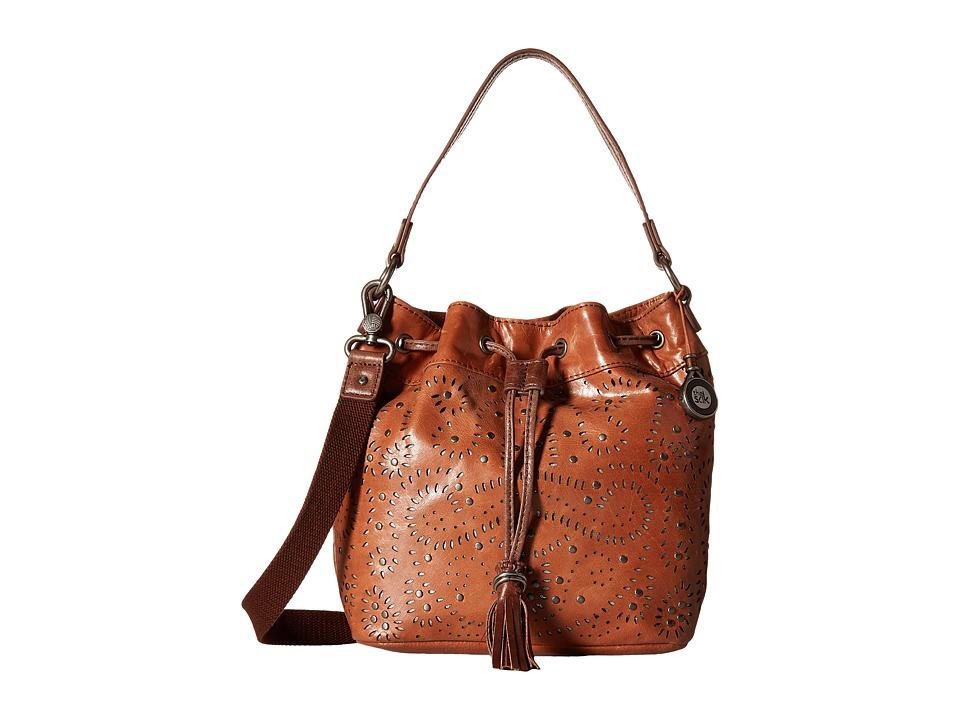 The Sak - Ukiah Small Drawstring (Tobacco Swirl) Drawstring Handbags