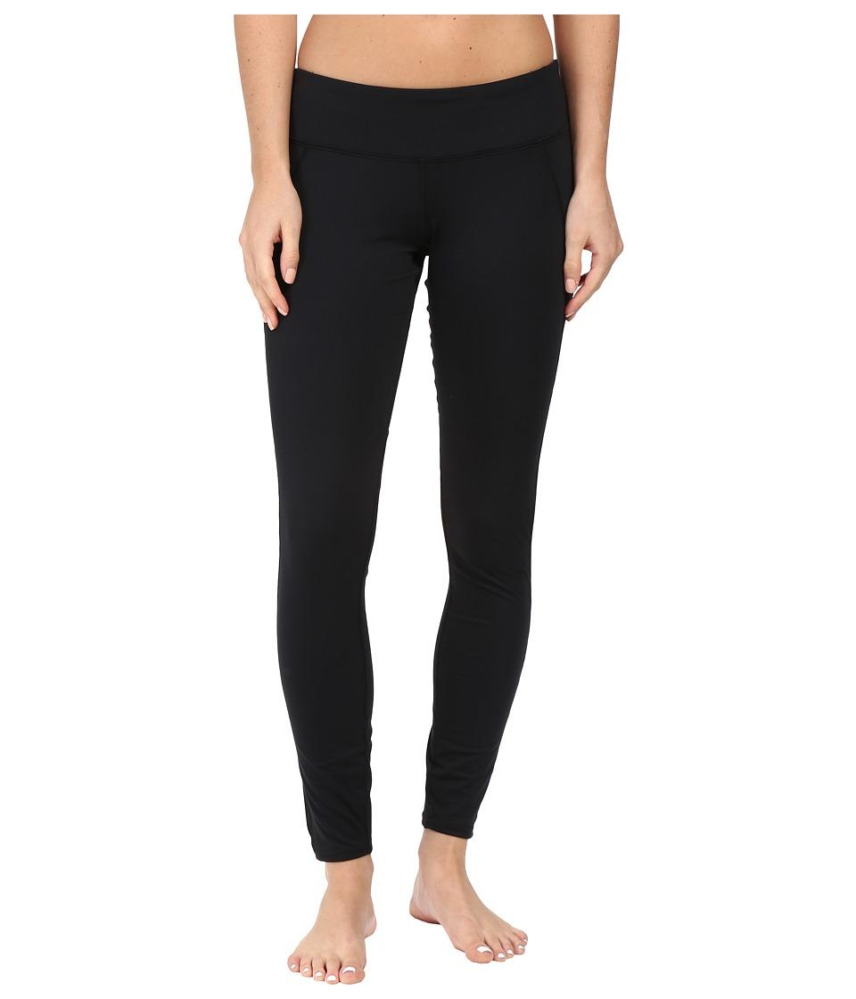 Hot Chillys MTF Flex Leggings (Black/Black) Women