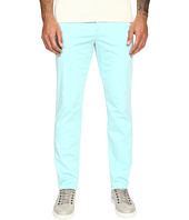 Versace Collection - Front Pleat Stretch Chino Pants