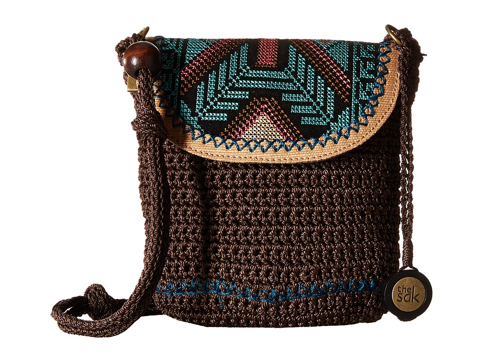 The Sak - Sayulita Flap (Brown Tribal) Handbags