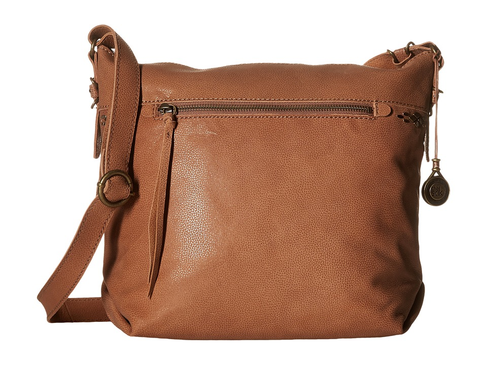 The Sak - Sierra Small Bucket (Almond) Satchel Handbags