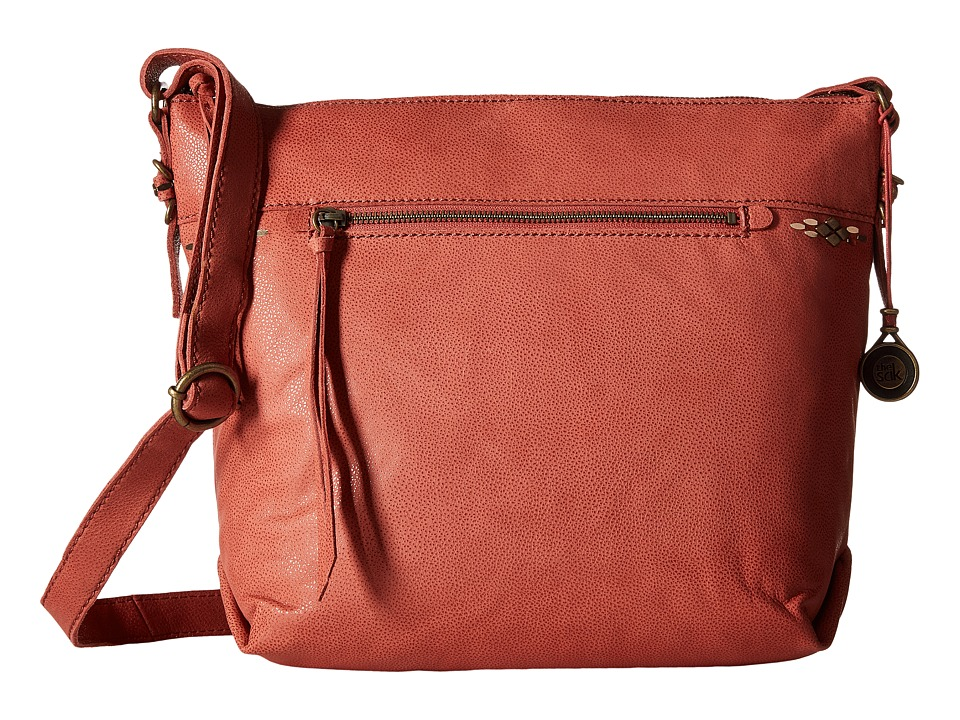 The Sak - Sierra Small Bucket (Sienna) Satchel Handbags