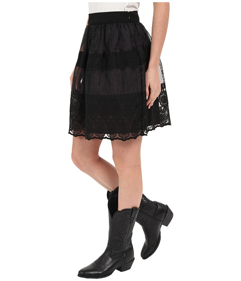 Black Organza Skirt 73