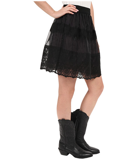 Black Organza Skirt 11