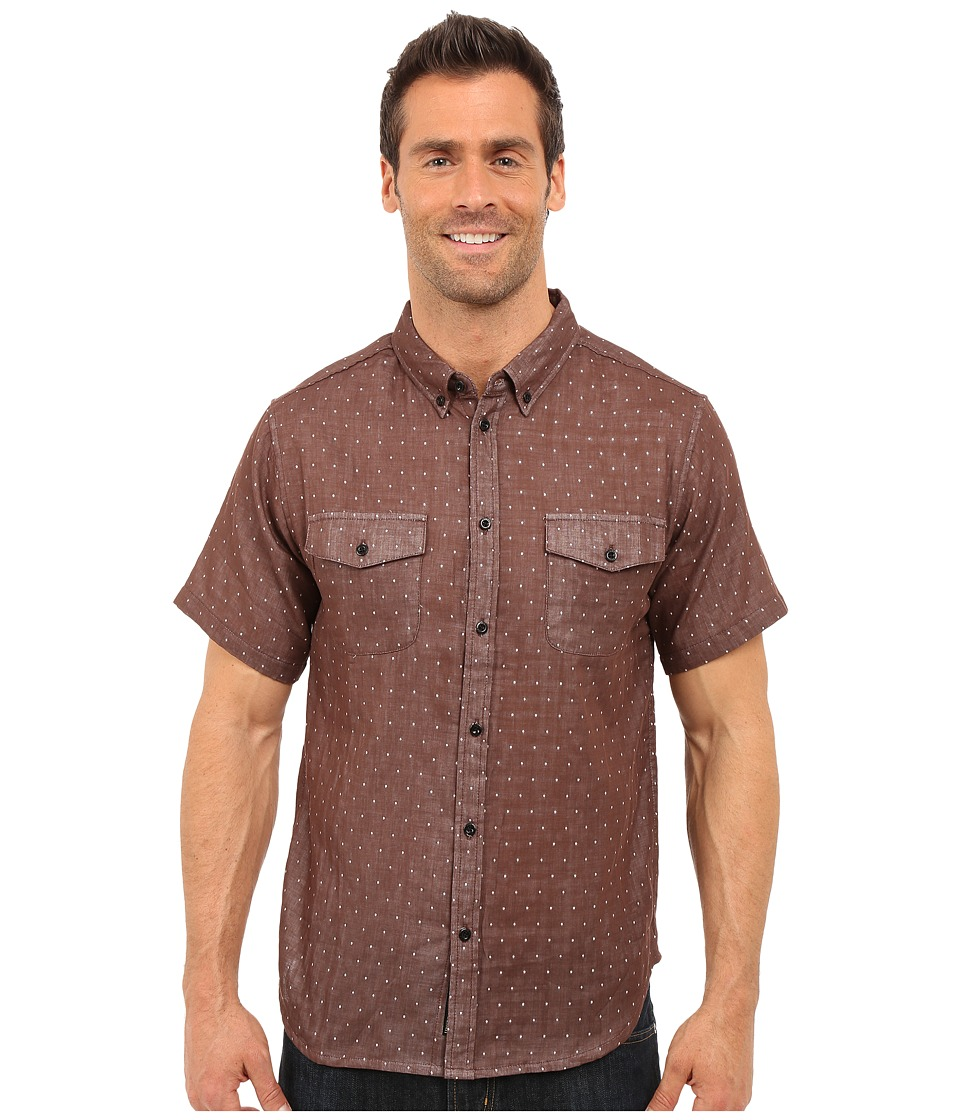 United By Blue Clark Dot Brown Mens Clothing