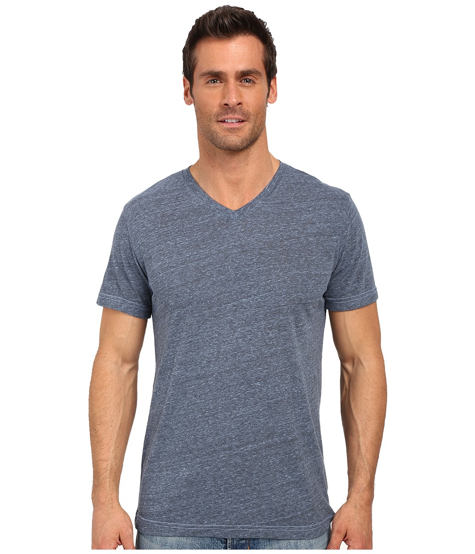 United By Blue Standard V Neck Blue Mens Clothing