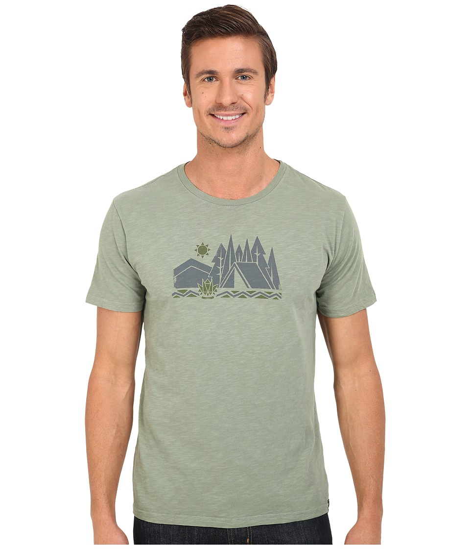 United By Blue Camp Geo Green Mens Clothing