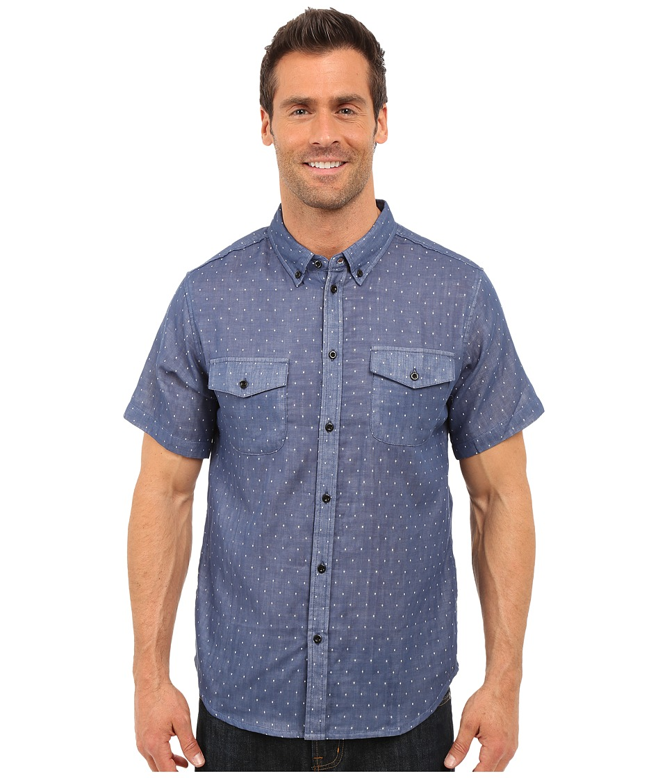 United By Blue Clark Dot Blue Mens Clothing