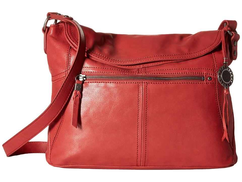 The Sak - Esperato Flap Hobo (Sienna) Hobo Handbags