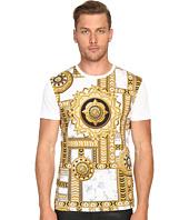 Versace Jeans - Marbled Kaleidoscope Print T-Shirt