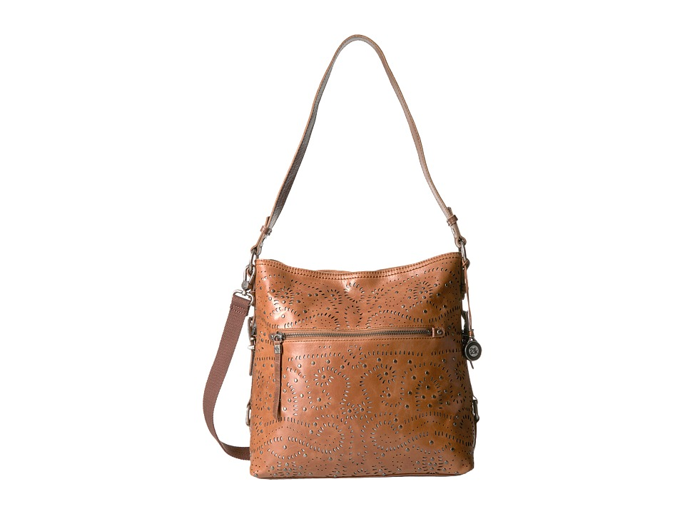 The Sak - Sanibel Bucket (Tobacco Swirl) Satchel Handbags