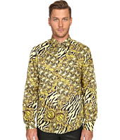 Versace Jeans - All Over Baroque Tiger Print Long Sleeve Button Up