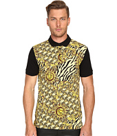 Versace Jeans - All Over Baroque Tiger Print Polo