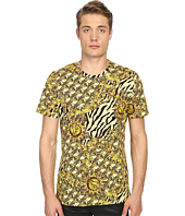 Versace Jeans - All Over Baroque Tiger Print T-Shirt
