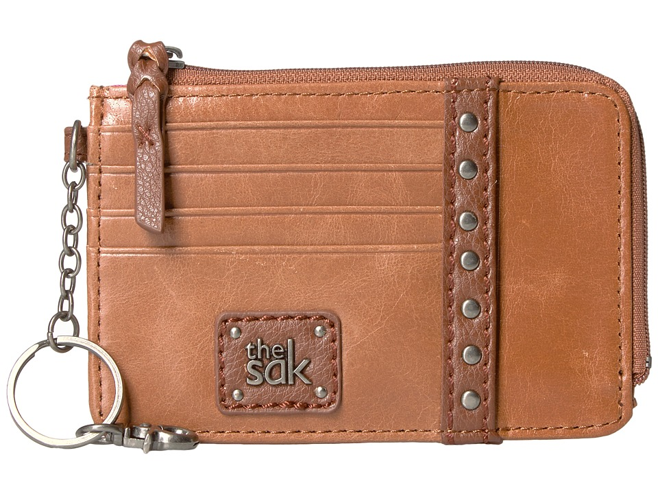 The Sak - Iris Card Wallet (Tobacco Stud) Wallet Handbags