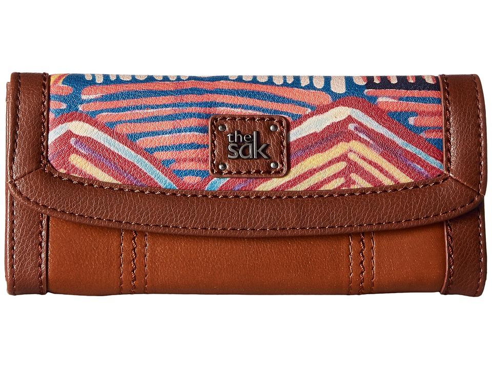 The Sak - Iris Flap Wallet (Madura Print) Wallet Handbags