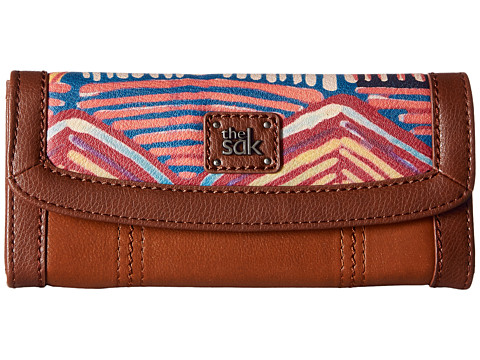 The Sak Iris Flap Wallet - Madura Print