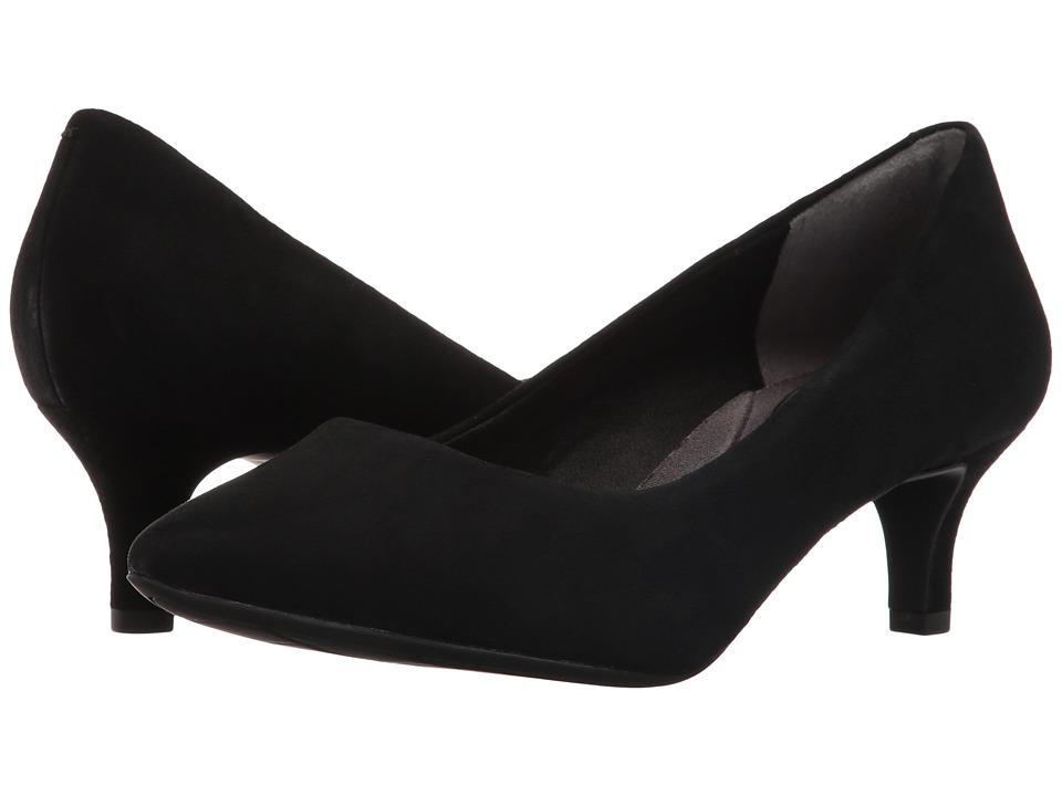 Rockport - Total Motion Kalila Pump (Black Suede) High Heels